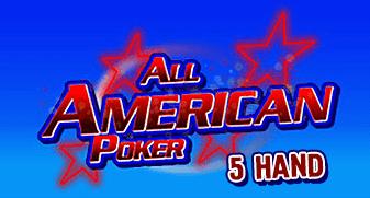 All American Poker 5 Hand
