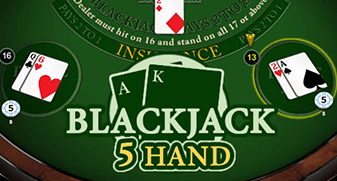 Blackjack (5 Hand)